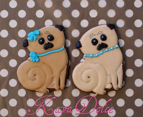 cookie pug pug decorated sugar cookies royal icing fawn pug cookies pug sugar