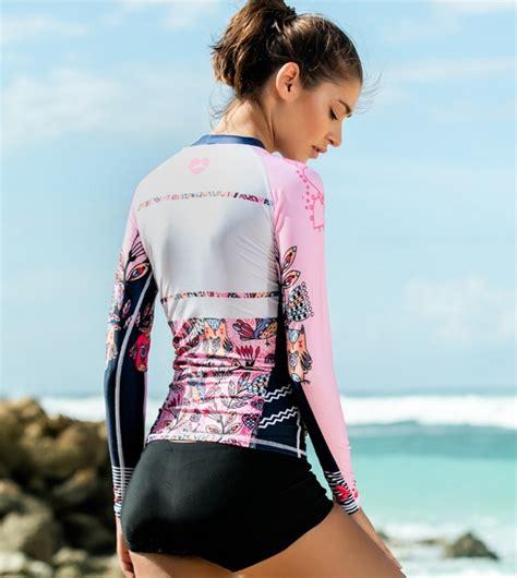 Baju Renang Wanita 2017 sleeve swim top sbart baju renang wanita