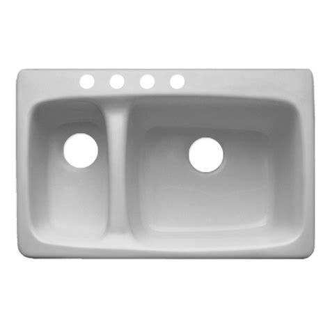 acrylic kitchen sink installation shop corstone barrington basin drop in acrylic