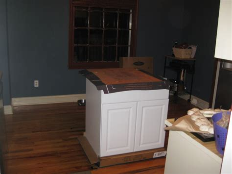 making kitchen island diy kitchen island tutorial from pre made cabinets