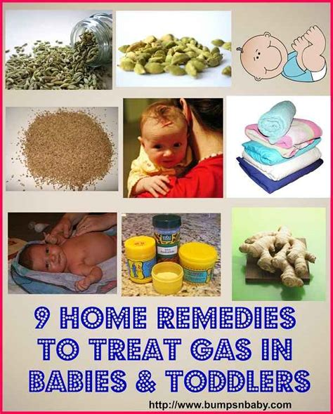9 home remedies to treat gas in babies and toddlers