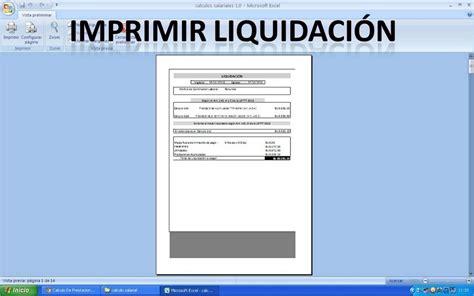 calculo de liquidacin en excel 2016 calculadora de liquidacion 2016 calculadora de liquidacion