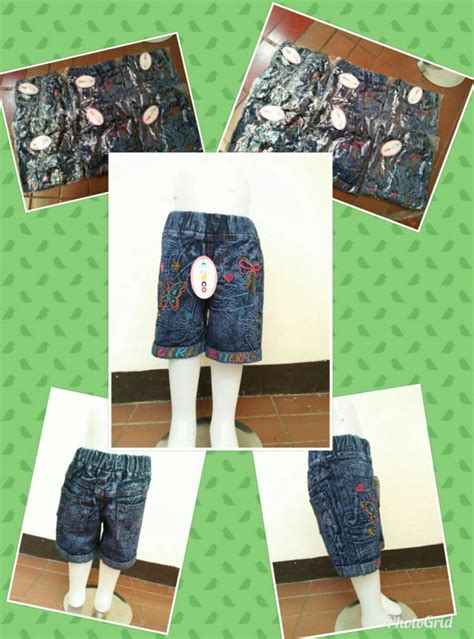 Celana Anak Hotpant Celana Imfort Celana Pakaian Anak pusat grosir celana hotpant anak perempuan murah bandung 25ribu