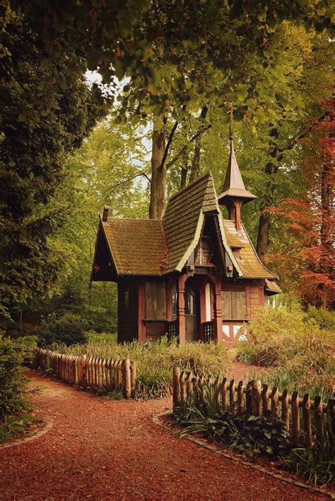 Cottage Witch by By Timea Kerekgyarto Tiny Homes Cabins And Cottages