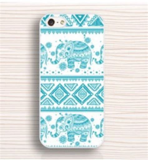 tribal pattern iphone 5c case phone cover blue elephant cute cover iphone 5c