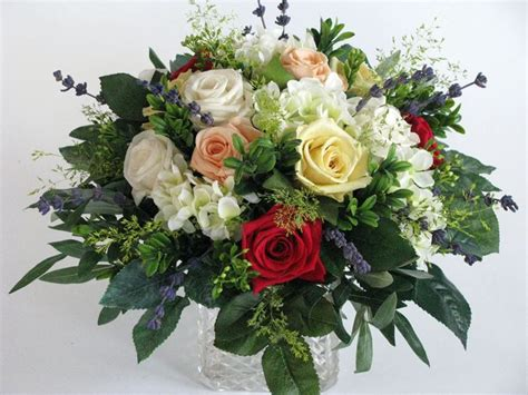 composizione di fiori finti fiori finti composizioni composizione di fiori finti