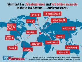 walmart accused of hiding 76 billion from taxes in the u