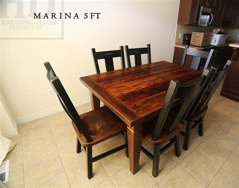 reclaimed wood harvest kitchen table in stoney creek