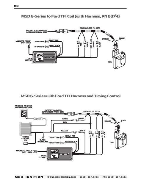 msd digital 6al wiring diagram untpikapps