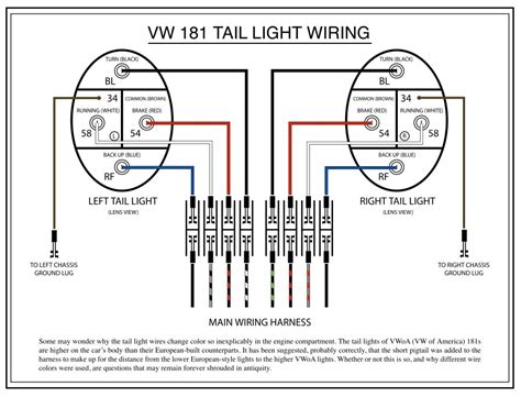 complete color wiring diagram 72 beetle free