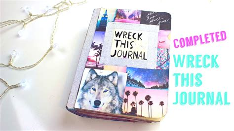 best completed completed wreck this journal