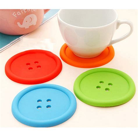5pcs Canada Design High Quality Measuring Cup Mangkok Takar Cake Cups 5pcs colorful silicone button coaster cup mat drink placemat alex nld