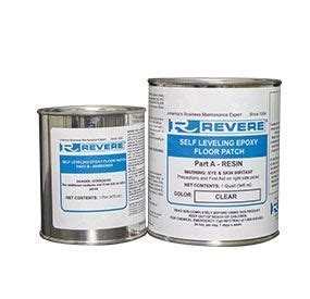 Self Leveling Epoxy Floor Patch Clear   Concrete Repair