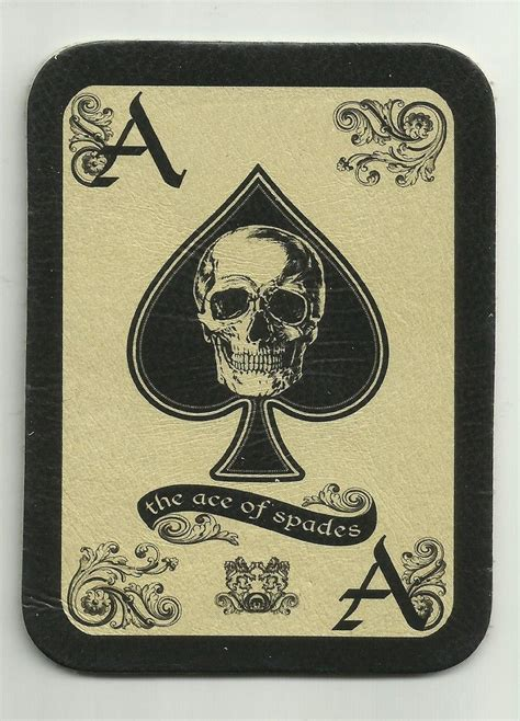 tattoo patches leather ace of spades card morale patch rip it and
