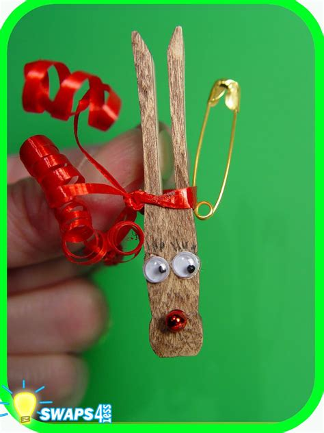 girl scouts crafts for christmas rudolf the nosed reindeer scout swaps craft kit from swaps4less