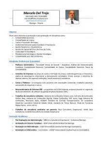 Curriculum Vitae Professor by Curr 237 Culo Professor Marcelo Del Trejo