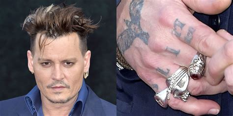 amber heard tattoos johnny depp changes heard to scum