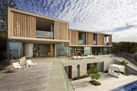 the modern house wooden facade modern house design by saota architecture