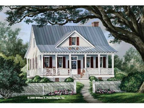 Seeing Double Porches Hwbdo68492 Cottage From Country House Plans Bungalow