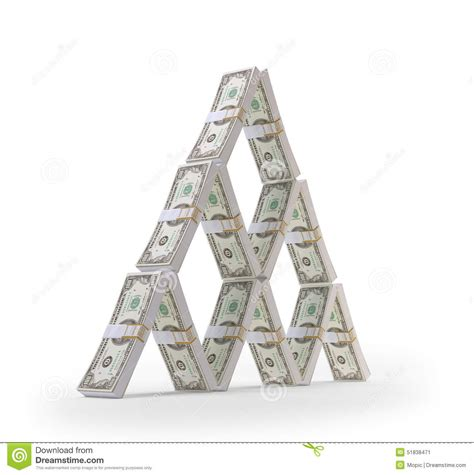 how to make a house out of cards dollar house of cards stock illustration image 51838471