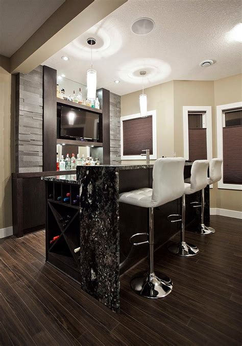 modern bar ideas for basements 27 basement bars that bring home the times