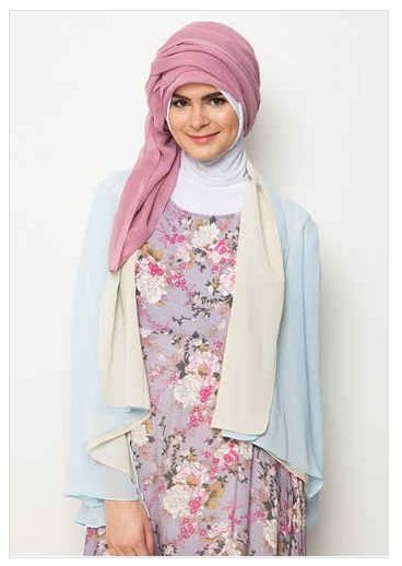 Baju Batik Kombi Burung contoh foto baju muslim modern terbaru 2016 10 koleksi