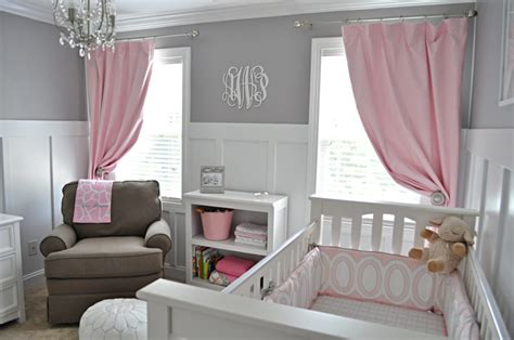 pink and grey toddler room s sweet gray and pink nursery project nursery