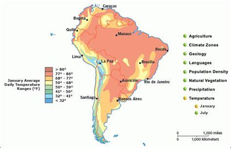 america temperature map january grolier atlas