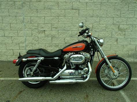 Harley Davidson Hd011 Black Orange 2009 harley davidson xl1200c sportster in orange black um20320 m r