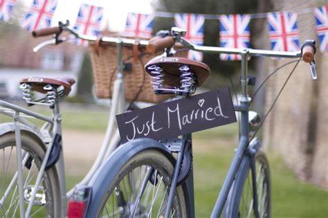 Wedding On Bicycle by On Weddings And Bicycles