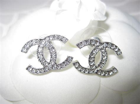 chanel stud earrings price chanel earrings ebay
