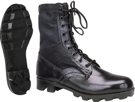 Jungle Boots Leather black leather jungle boots ebay