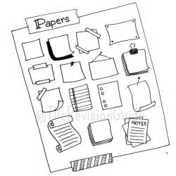 doodle notes draw 25 best ideas about paper frames on paper