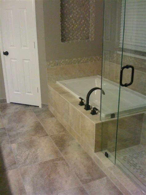 drop in bathtub with shower drop in tub traditional bathroom dallas by star