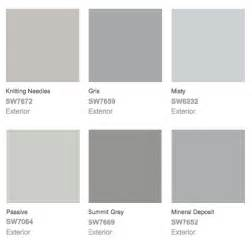 exterior paint color combinations grey sherwin williams the sherwin williams website and