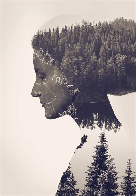 surreal double exposure tutorial how to create a double exposure effect in photoshop