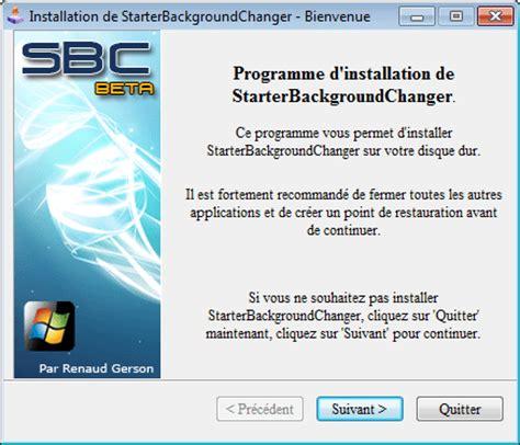 arri鑽e plan de bureau windows 7 gratuit changer le fond d 233 cran de windows 7 starter