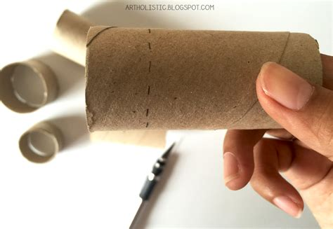 What To Make With Toilet Paper Rolls For - holistic make a wall clock using toilet paper rolls