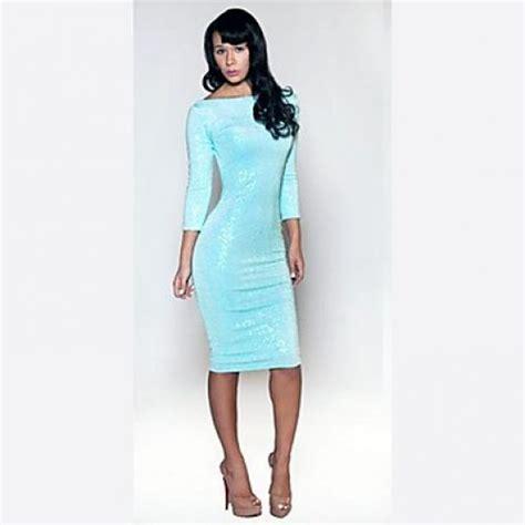 womens light blue dress s ebay dress light blue sequined bind belt