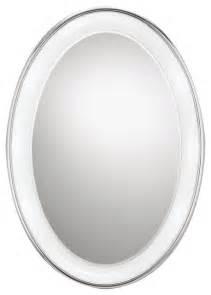 bathroom oval mirror tigris oval mirror by tech lighting contemporary