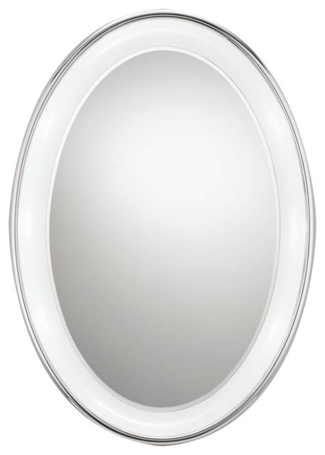 bathroom oval mirror bath lighting over oval mirror simple home decoration