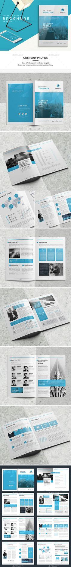 company profile indesign template clean and professional company profile brochure template