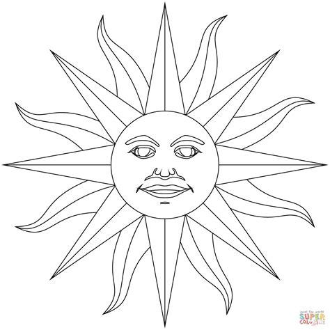 coloring book aztec sun mexicana cinco de mayo inca god coloring sheets gulfmik 078d36630c44