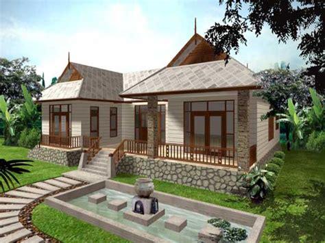small minimalist single storey house design great modern single story house plans