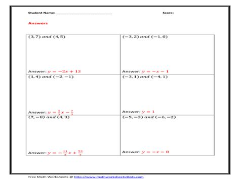 Finding Slope From Two Points Worksheet Answers by Uncategorized Finding The Slope Of A Line Worksheet