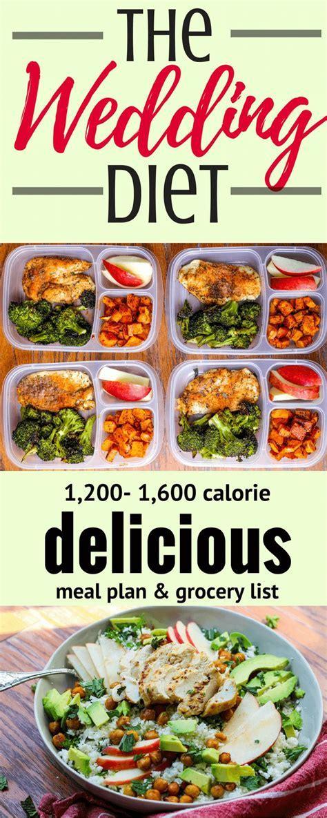 Wedding Diet Meal Plan   Wedding Ideas