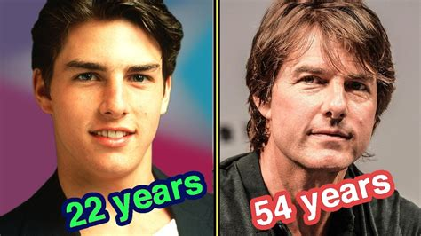 how is years tom cruise through the years in 60 seconds