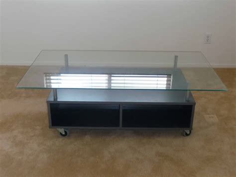 Glass Storage Coffee Table Contemporary Glass Coffee Tables With Storage Contemporary Homescontemporary Homes