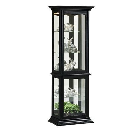 dining room curio home meridian home meridian pulaski curio 18 by 11 by 69 inch black black priceco furniture