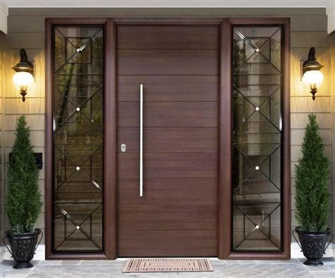 Modern Glass Dining Room Table Modern Wood Front Door The Holland Choosing The Modern